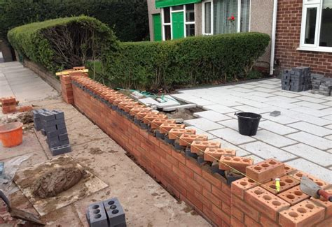 L House Design garden wall aintree with dog toothing feature ljp builders