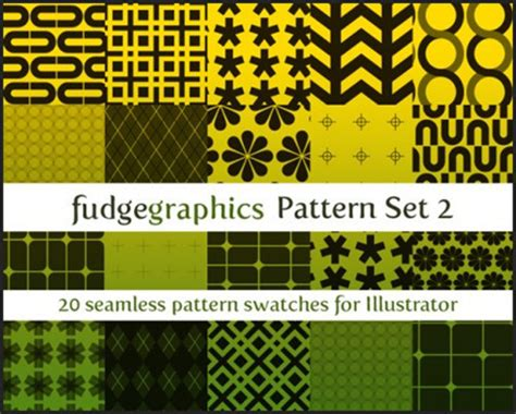 new pattern swatch illustrator a gold mine of adobe illustrator resources noupe
