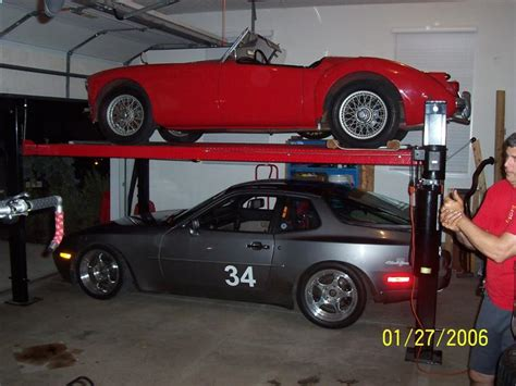 how much does a 4 door porsche cost anyone stack their cars in their garage page 4