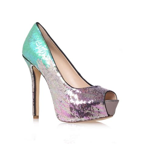 enzo angiolini shoes enzo angiolini tanen2 court shoes in silver lyst