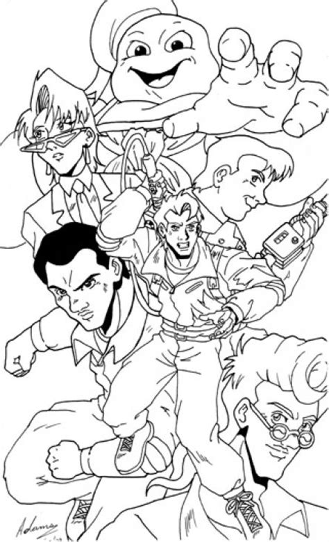 free coloring pages ghostbusters ghostbusters coloring pages coloring home