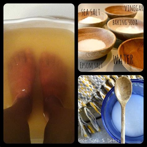 Epsom Salt Foot Detox Lyme by 17 Best Ideas About Foot Soak Vinegar On Skin