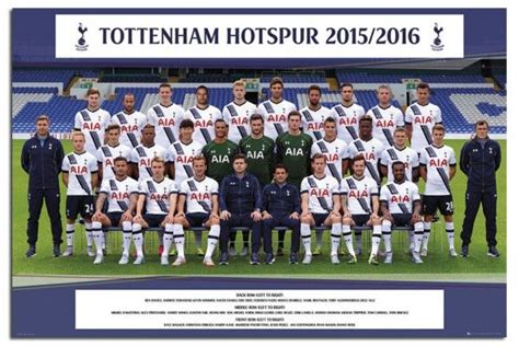 tottenham hotspur 2015 16 team photo poster iposters football soccer posters