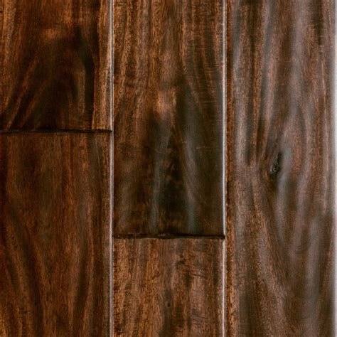 virginia mill works engineered 1 2 quot x 5 quot burnished acacia handscraped engineere flooring