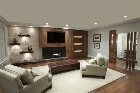 the living room chicago built in living room contemporary family room chicago by mb design build