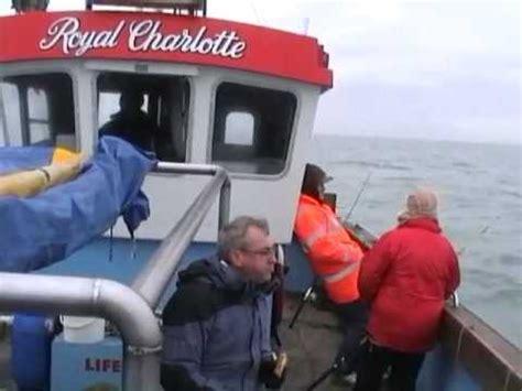 charter fishing boat dover kcc sea fishing charter boat trip 2010 royal charlotte