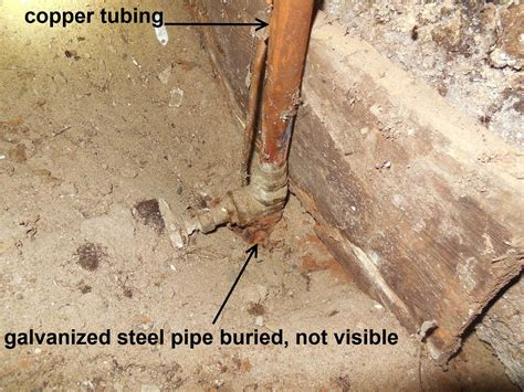 How To Find Out Where Are Buried Problems With Galvanized Steel Water Pipes
