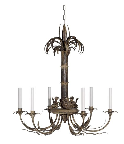 Monkey Chandelier Palm Tree And Monkey Chandelier Richard Designsrichard Designs