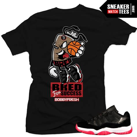 sneaker inspired t shirts 11 bred matching sneaker tees bred for success