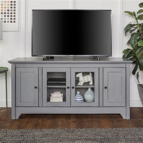 walker edison furniture company 52 in antique grey