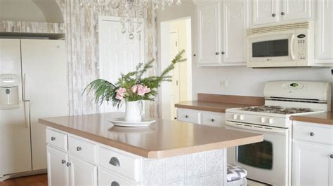 Simple Kitchen Updates by Accent Wall And Simple Kitchen Updates White Lace Cottage