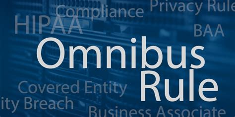 hipaa omnibus ruling    stand