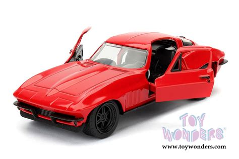 Fast And Furious 8 Lettys Chevy Corvette 1 24 Scale toys fast furious letty s chevrolet corvette f8