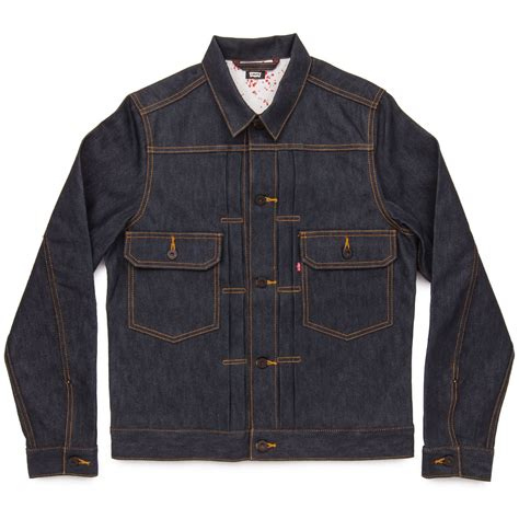 Levis Jacket 1 levis skate type 2 jacket rigid indigo