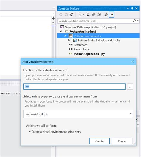 github tutorial visual studio 2015 get python modules into visual studio 2015 community