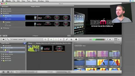 Creating Imovie Templates Macmost Now 427 Youtube Imovie Templates Free