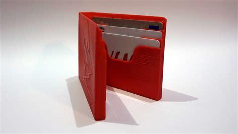 printed wallet wallet 3d printed wallets frank lumien
