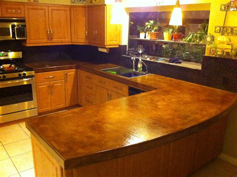 Countertop Ideas For Kitchen by Palm Desert Concrete Counter Top Nikolic Construction