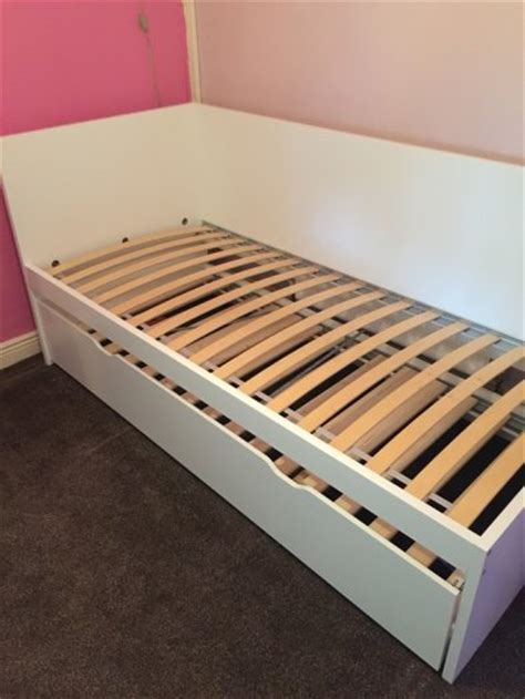 ikea pull out bed ikea bed with underneath pull out bed for sale in