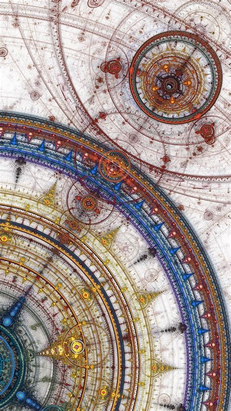 geometric pattern of the universe time space universe abstract geometry spiritual circles