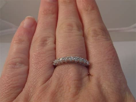 ladies ct gold   carat diamond eternity ring size