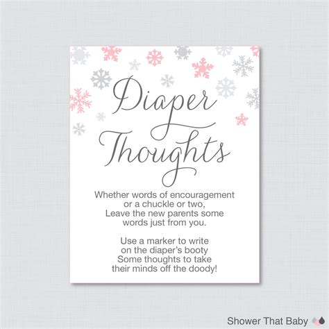 Baby Shower Thoughts by Winter Baby Shower Thoughts Baby Shower