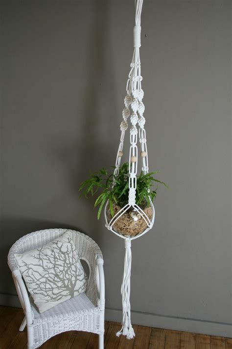 Macrame Hanger - cool macrame plant hanger ideas for your sweet home