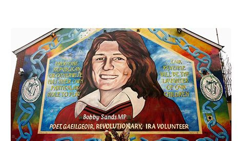 Football Wall Murals remembering bobby sands 35 facts about the revolutionary