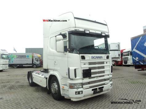 scania 4 series 124 l 420 2004 standard tractor trailer