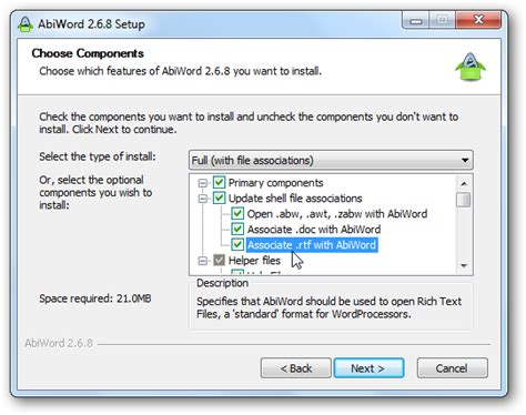 layout of word processing abiword is a free word processor for windows linux and mac