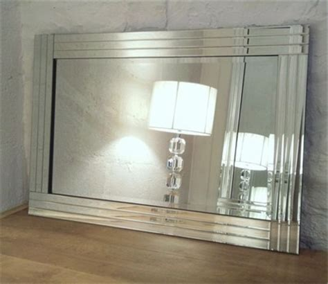 large glass mirror bathroom trevina silver glass framed rectangle bevelled wall mirror