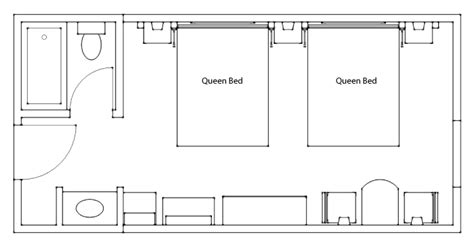 hotel standard room layout standard hotel room at the banff ptarmigan inn official