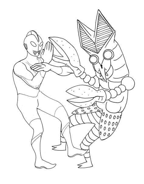 ultraman coloring pages printable ultraman free coloring pages
