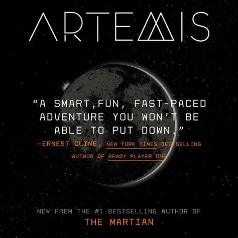 A Novel artemis a novel andy weir 9780553448122 books