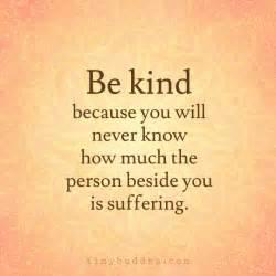 be kind tiny buddha