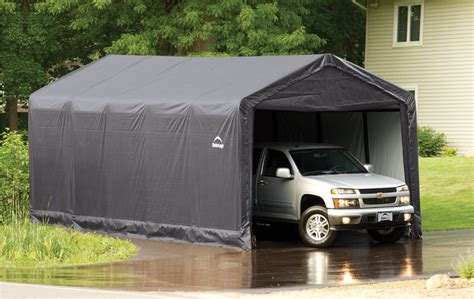 Portable Garage Shelter Portable Garage Shelter Actual Home Actual Home