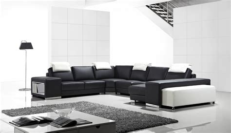 Modern Sectional Sofas 1000 by T1000 Modern Leather Sectional Sofa