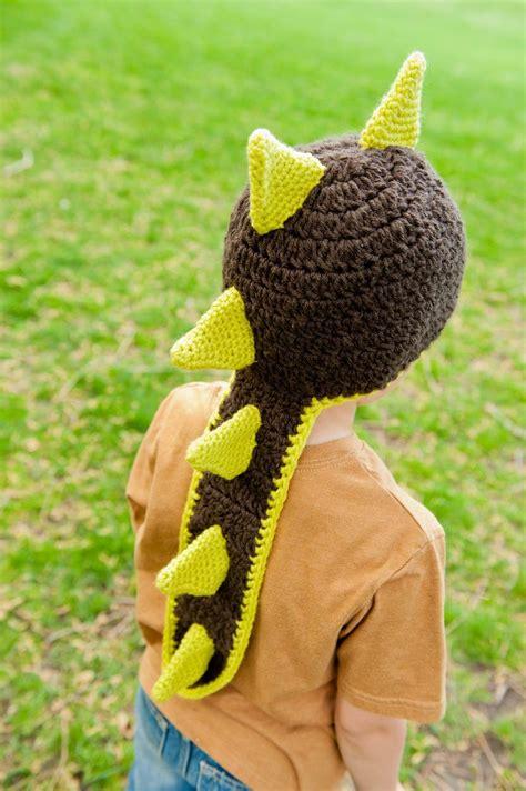 Handmade Dinosaur Crochet Hat Pattern - crochet pattern dinosaur hat or hat pattern kid
