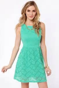 Dress Cutelace Mint Blue Dress Lace Dress Mint Dress 41 00