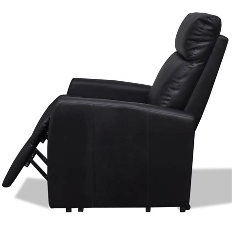Tv Recliner Chair by 2 Position Electric Tv Recliner Lift Chair Black Vidaxl