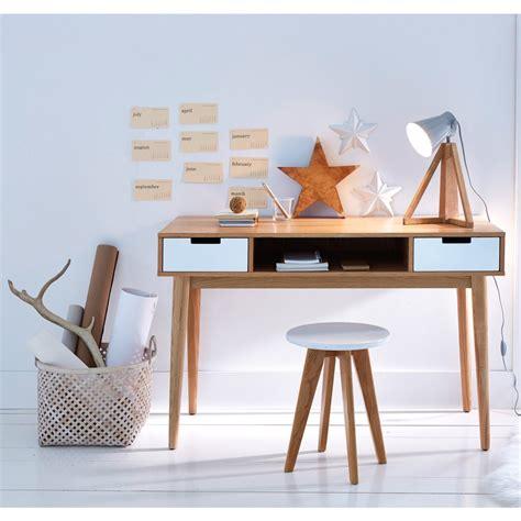l designer bureau vintage jimi en bois naturel