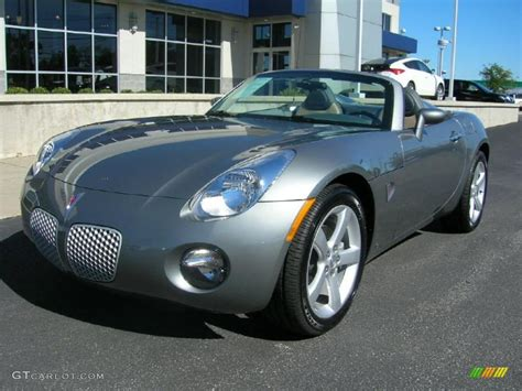 pontiac solstice colors 2006 sly gray pontiac solstice roadster 37700156