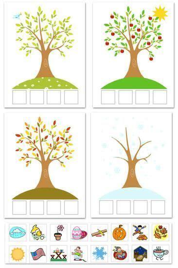 printable seasons poster quot season match up quot free printable 4 seasons matching