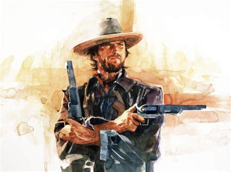 film western hd clint eastwood western hintergrund 12x18 20x30 24x36 zoll