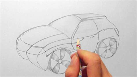 Auto Bilder Selber Malen by Fantasie Auto Zeichnen Im Zeitraffer Fantasy Car