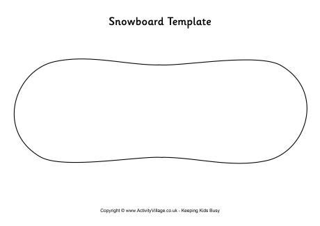 snowboard template