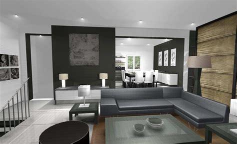 modele deco salon salle a manger modele de decoration salon design de maison