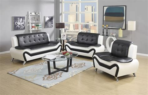 leather sofa sets wanda white black bonded leather sofa set 3pc 2pc sofa