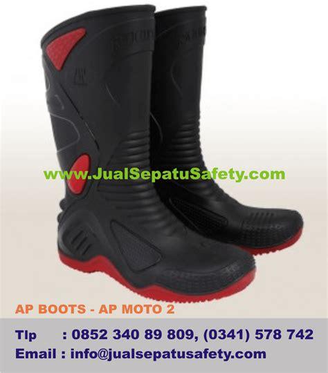 Sepatu Boot Ap Moto 2 sepatu boots untuk berkendara dan touring ap boots moto