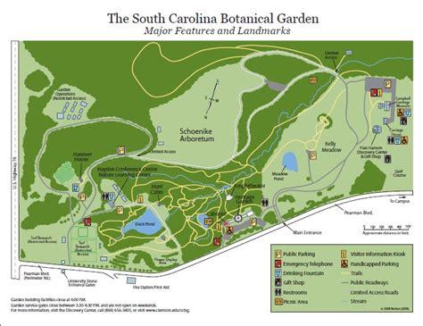 clemson botanical garden clemson trail guide sc botanical garden